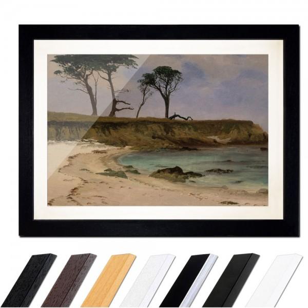 Albert Bierstadt - Sea Cove - Meeresbucht
