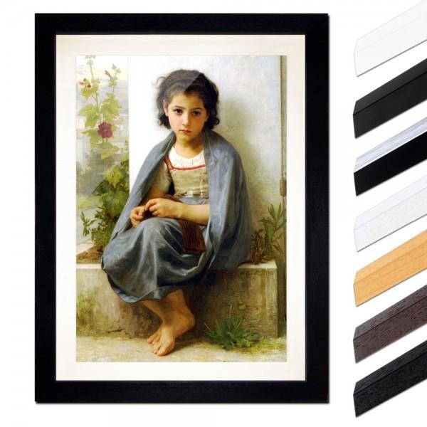 William-Adolphe Bouguereau - Die kleine Stickerin