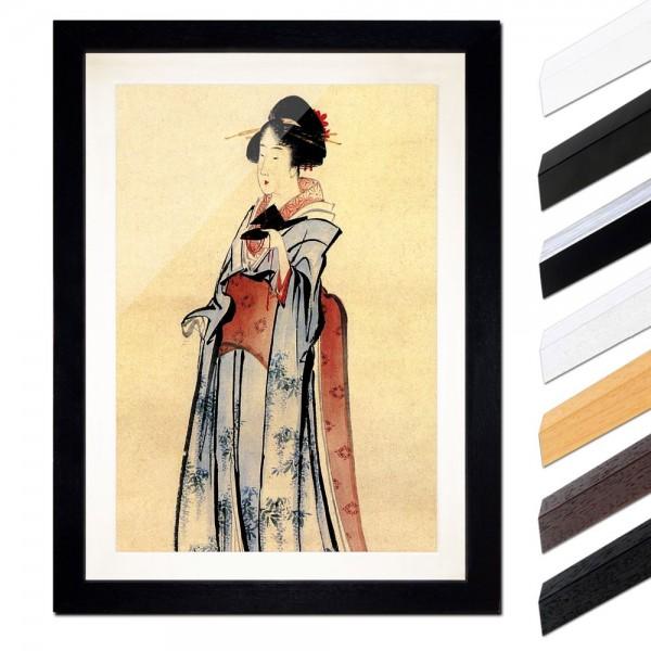 Katsushika Hokusai - Geisha II