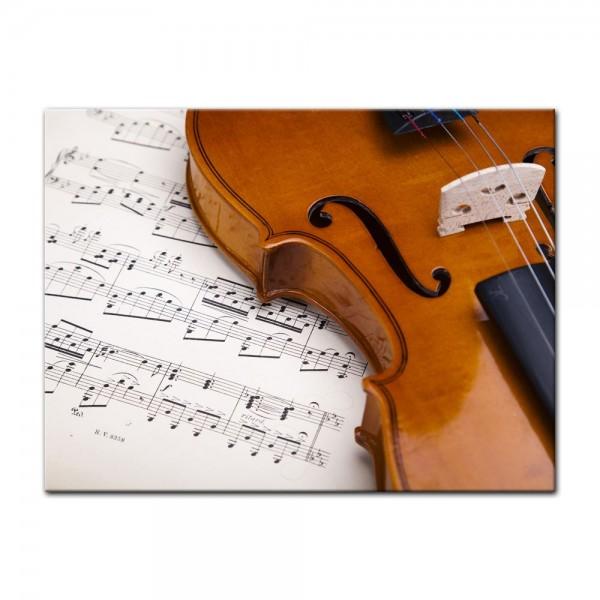 Leinwandbild - Violine