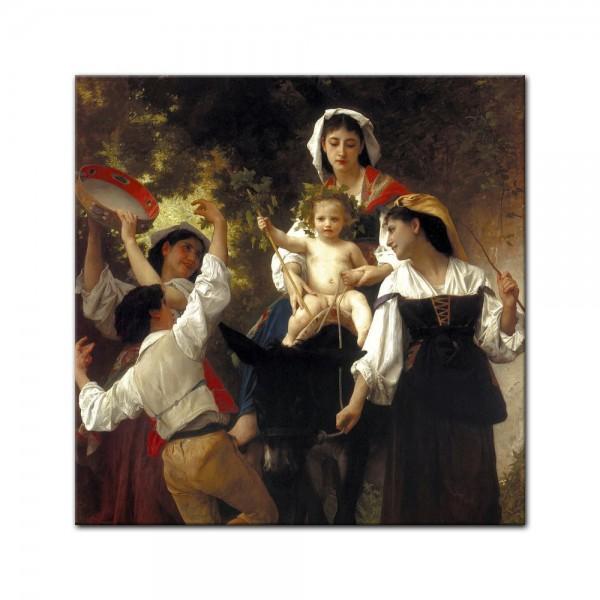 Leinwandbild - William-Adolphe Bouguereau - Rückkehr von der Ernte