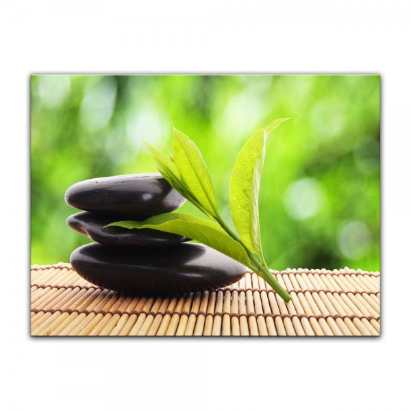 Leinwandbild - Zen Steine V