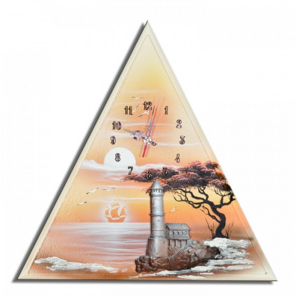 Wanduhr Leuchtturm F 54
