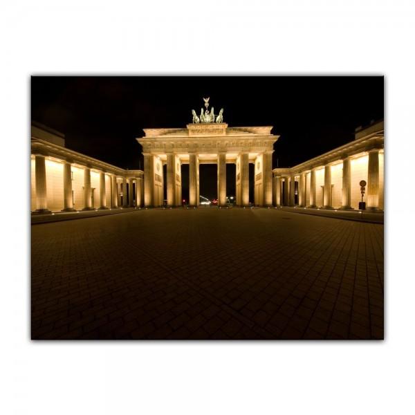 Leinwandbild - Brandenburger Tor - Berlin