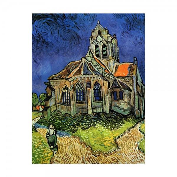 Leinwandbild - Vincent van Gogh - Die Kirche von Auvers
