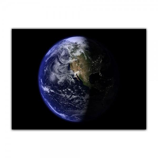 Leinwandbild - Erde