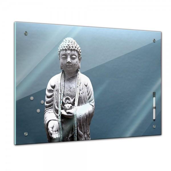 Memoboard - Geist & Seele - Buddha blau