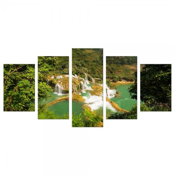 Leinwandbild - Wasserfall in Vietnam II
