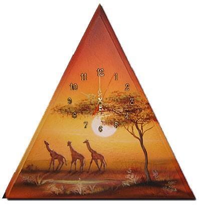 Wanduhr Giraffen M1