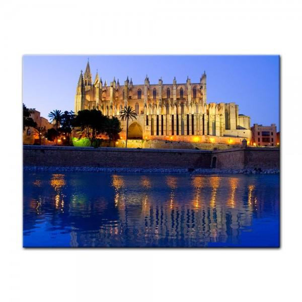 Leinwandbild - Cathedral of Palma de Mallorca - Spanien