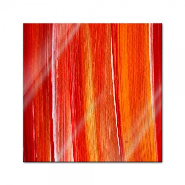 Glasbild - Abstrakte Kunst XXXVI