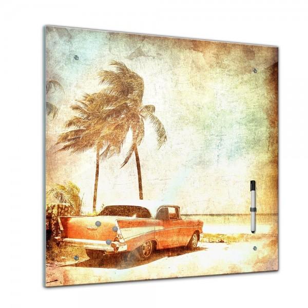 Memoboard - Männermotive - Beach - 40x40 cm