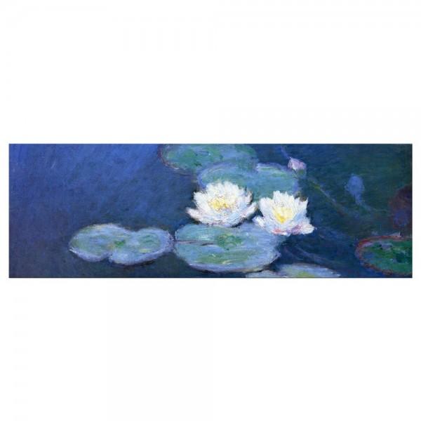 Leinwandbild - Claude Monet - Seerosen