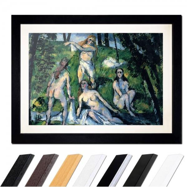 Paul Cézanne - Badende
