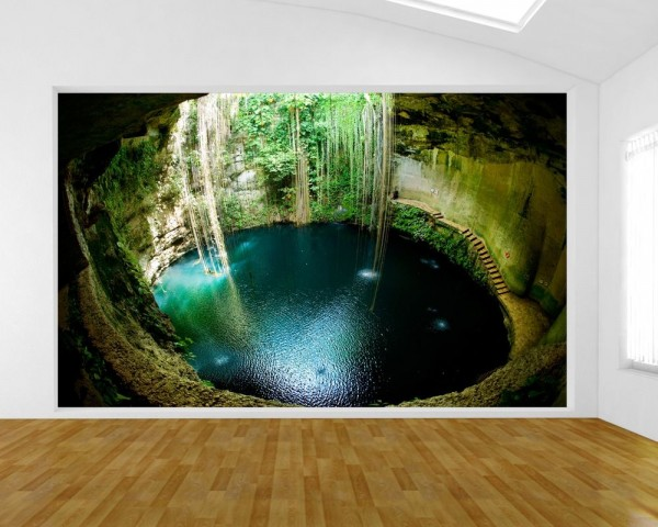 Fototapete Ik-Kil Cenote - Mexiko