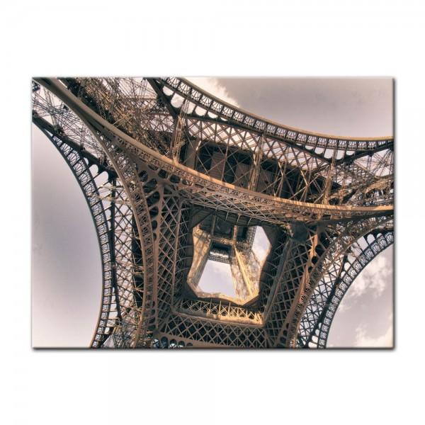 Leinwandbild - Pariser Eiffelturm - Frankreich