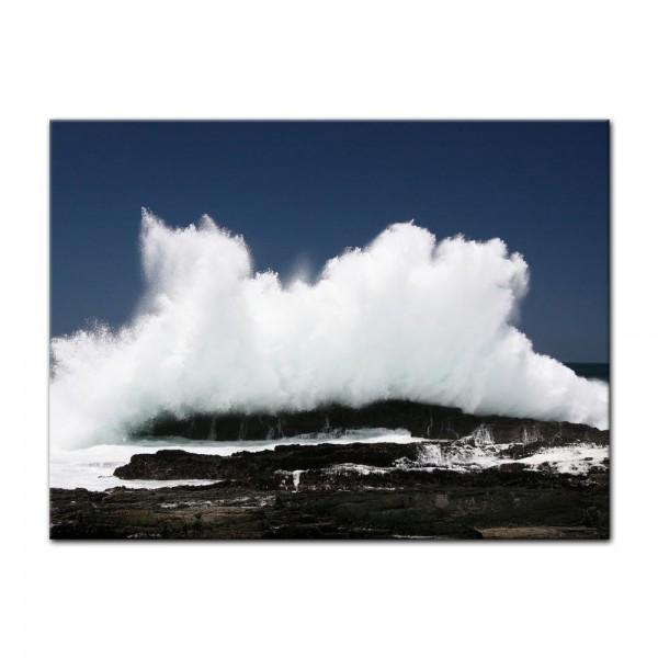 Leinwandbild - Welle