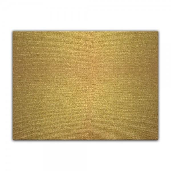 Künstlerleinwand - bemalbare Leinwand in gold - Rechteck