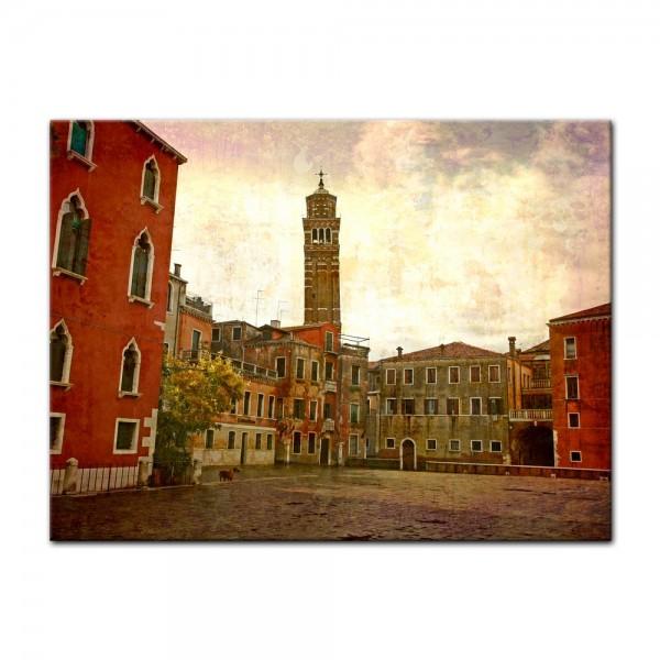 Leinwandbild - Venedig Grunge 3