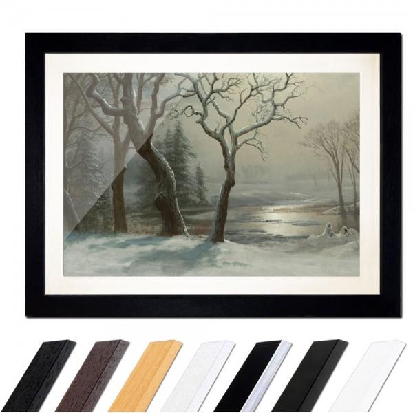 Albert Bierstadt - Winter in Yosemite