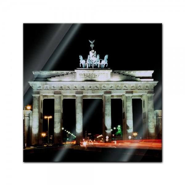 Glasbild - Brandenburger Tor