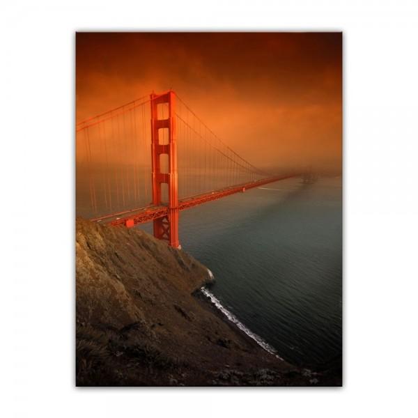 Leinwandbild - Golden Gate Bridge - San Francisco