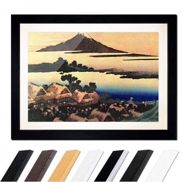 Katsushika Hokusai - Morgendämmerung bei Isawa in der Provinz Kai
