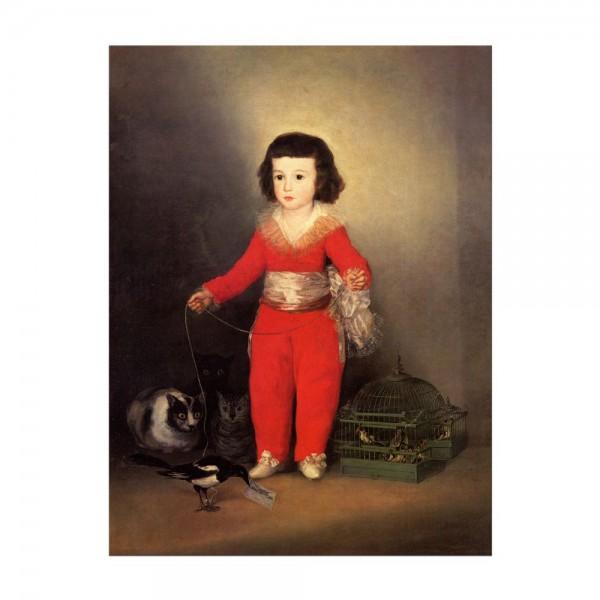 Leinwandbild - Francisco de Goya - Don Manuel Osorio Manrique de Zuñiga