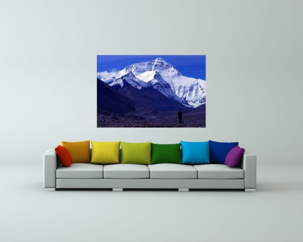 Fototapete - Mount Everest