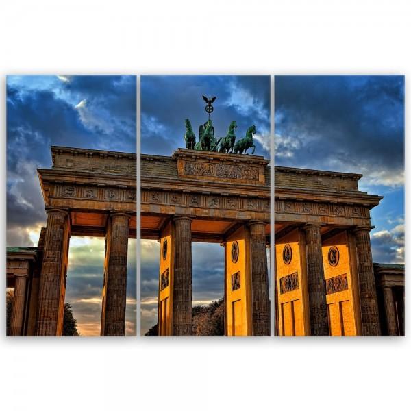Leinwandbild - Brandenburger Tor II - Berlin