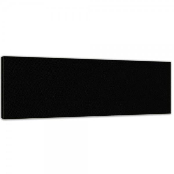 bemalbare Leinwand in schwarz - Panorama