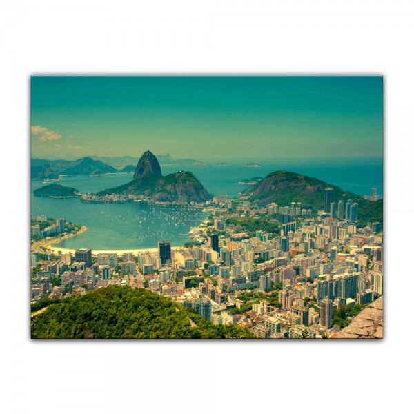 Leinwandbild - Rio De Janeiro - Berg Corcovado