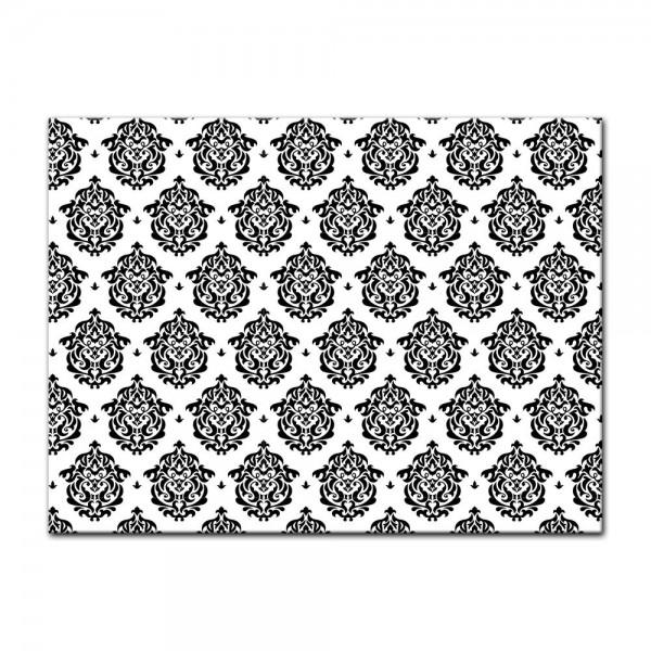 Leinwandbild - Florales Muster Tapete II
