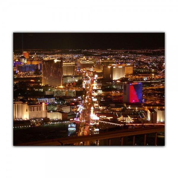 Leinwandbild - Las Vegas Strip bei Nacht