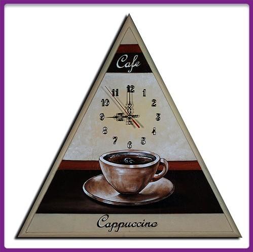 Wanduhr Cappuccino M 26