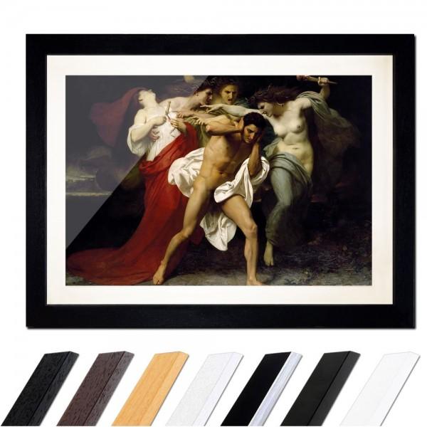 William-Adolphe Bouguereau - Orestes wird von Furien gehetzt