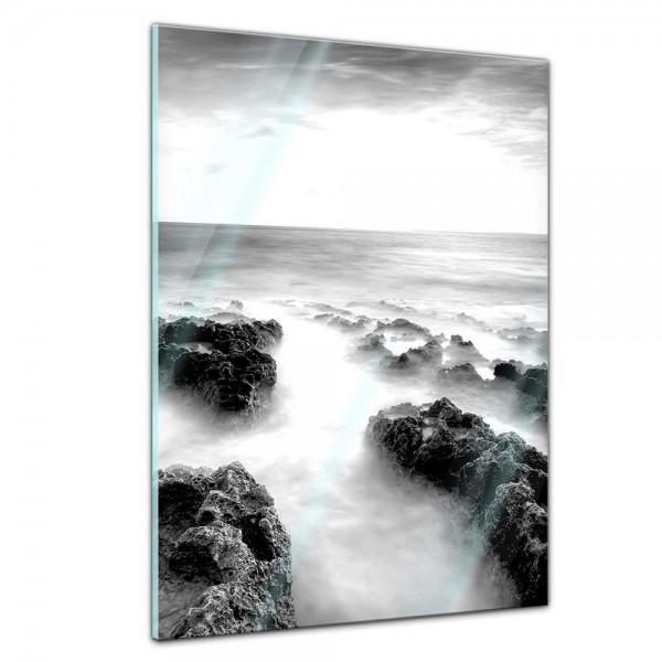 Memoboard - Landschaft - Nebel