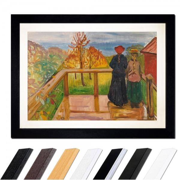 Edvard Munch - On the Veranda