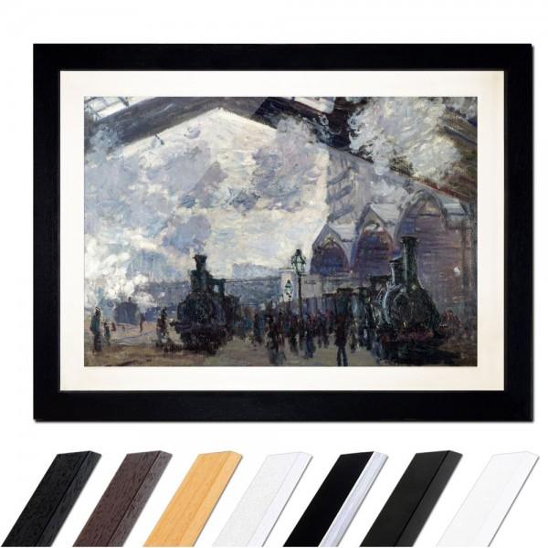 Claude Monet - Bahnhof Saint Lazare in Paris, Ankunft eines Zuges