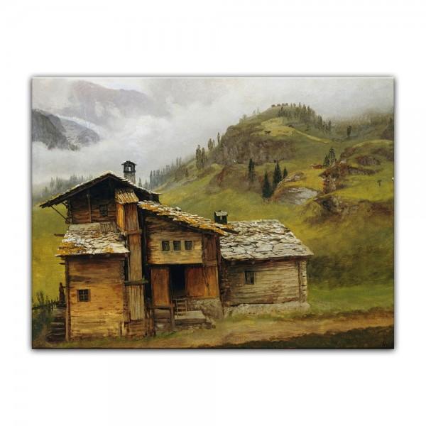 Leinwandbild - Albert Bierstadt - Mountain House