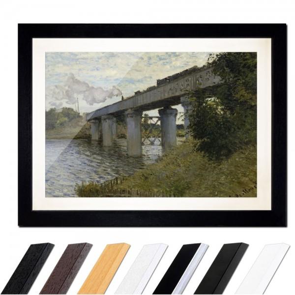 Claude Monet - Die Eisenbahnbrücke von Argenteuil