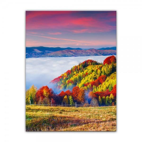 Leinwandbild - Herbstmorgen