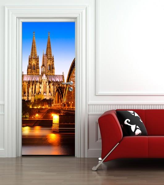 Türaufkleber Kölner Dom - Deutschland