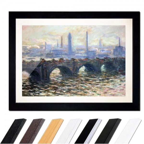 Claude Monet - Die Waterloo Brücke