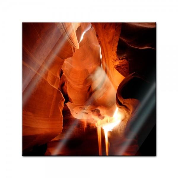 Glasbild - Antelope Canyon I - Arizona USA