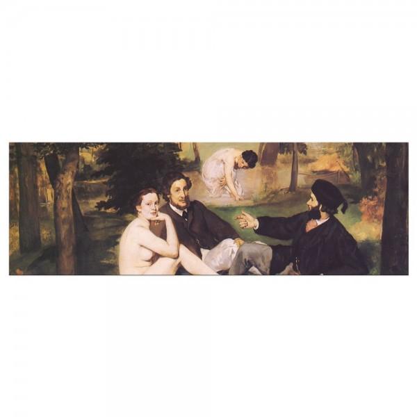 Leinwandbild - Édouard Manet - Das Frühstück im Grünen 2