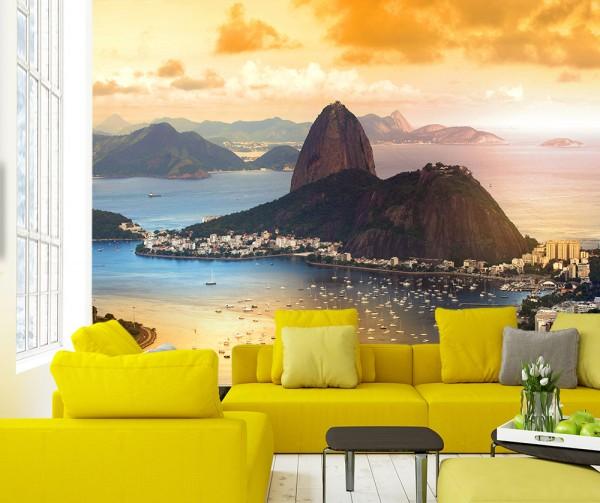 Fototapete - Copacabana in Rio De Janeiro - Brasilien