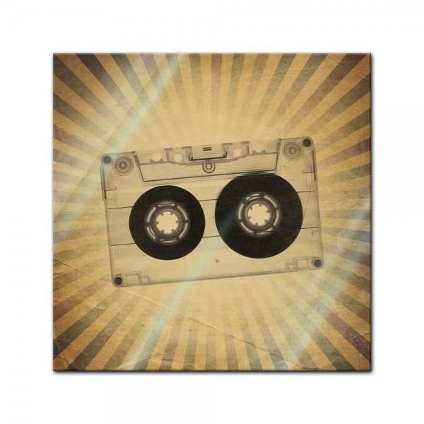Glasbild - Music Old Paper Grunge Vintage II