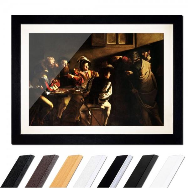 Caravaggio - Berufung des Heiligen Matthäus