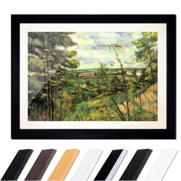 Paul Cézanne - Das Tal der Oise